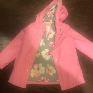 GAP kids raincoat size 5
